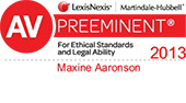 LexisNexis Peer Review Rated